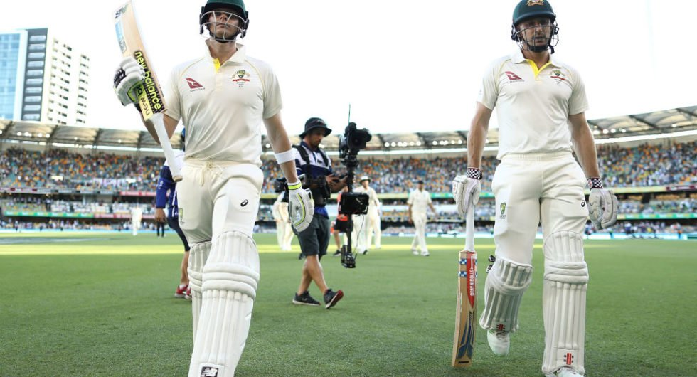 Ashes match report, day 2 Brisbane