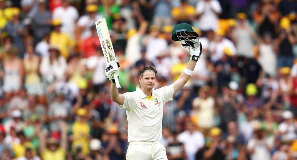 Steve Smith dominated day 3 at the Gabba