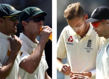 Ashes clashes: Starc & Hazlewood v Broad & Anderson