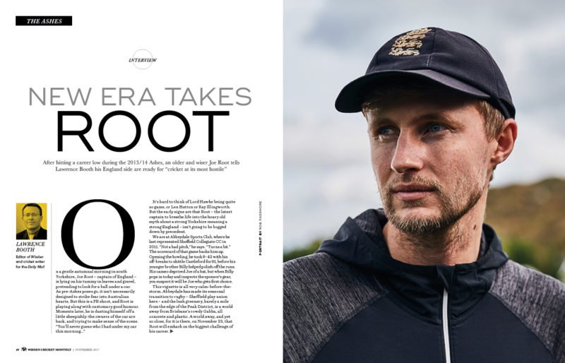 Joe Root exclusive interview