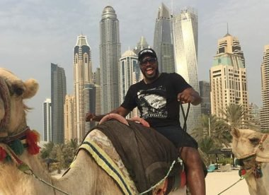 Flying Lyon & Gayle on a camel: Best of cricket on social media this week