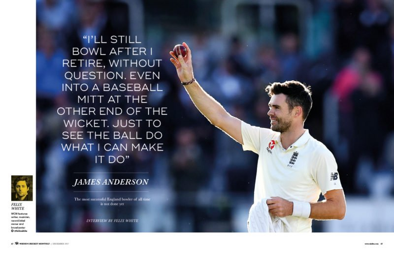 James Anderson interview
