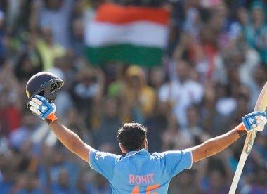 Rohit Sharma hits third ODI double century in India win