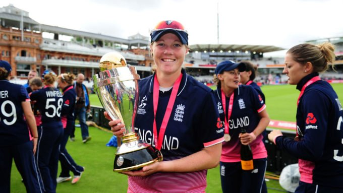 England Women win Team of the Year at SPOTY