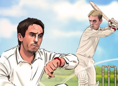 Gary Neville: 'Cricket toughened me up more than football'