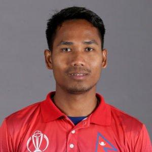 Nepal cricketer