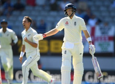 New Zealand lead by 117 after England collapse for 58