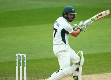 Opening the batting with Daryl Mitchell