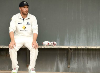 Aaron Finch sets sights on Test spot