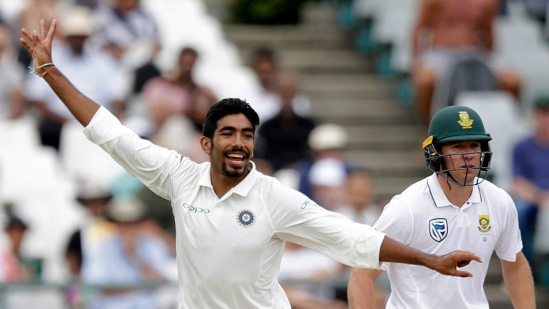 Bumrah made a good start to his Test career, with 14 wickets in South Africa