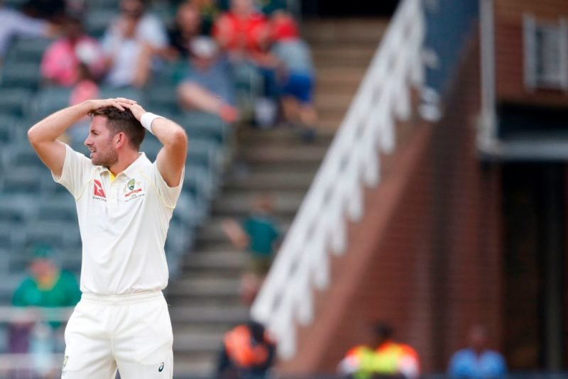 Chadd Sayers missed out despite making his Test debut recently