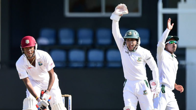 Bangladesh have moved above the Windies in the latest Test rankings