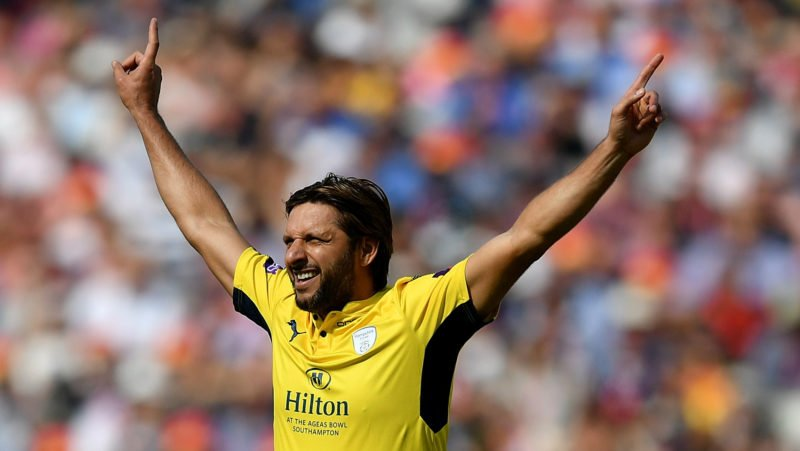 Afridi has been active in the T20 league circuit since quitting the game