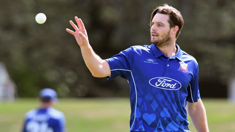 McClenaghan was tonked around by de Grandhomme towards the end