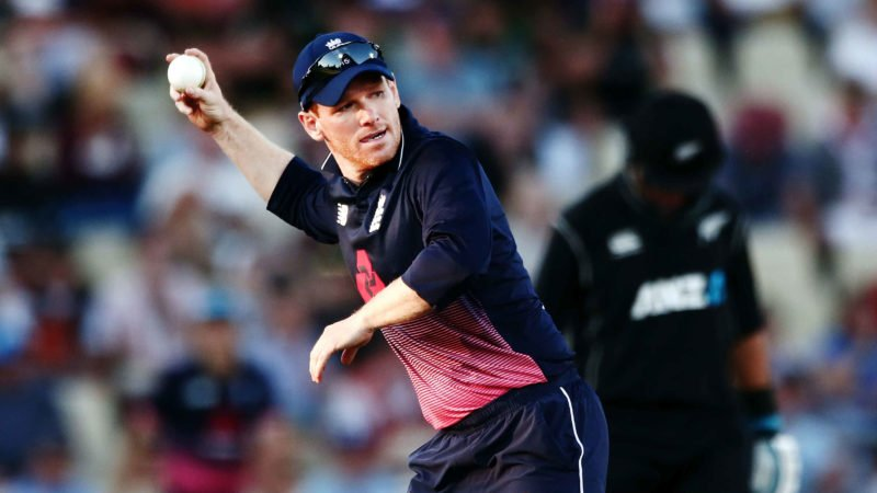 Eoin Morgan is out of the Hurricane Relief game with a fractured finger