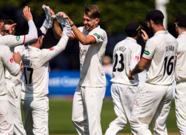 Lancashire seamer Tom Bailey named Player of the Month