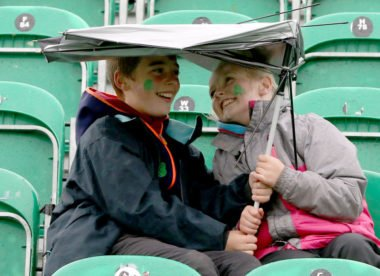 Wet weather fails to dampen Irish pride