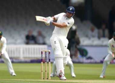 Adjustments pay off as Alastair Cook gets going with steady 70