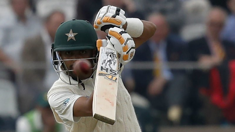 Babar Azam top scored for Pakistan in their first innings with 68 before retiring hurt