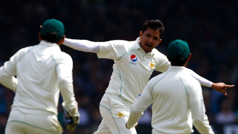 Mohammad Abbas was named Player of the Match for his eight wickets