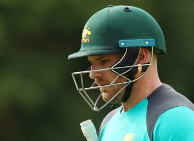 'We've really let ourselves down with the bat' – Aaron Finch