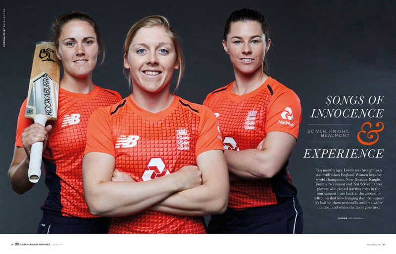 Knight, Sciver, Beaumont exclusive interview
