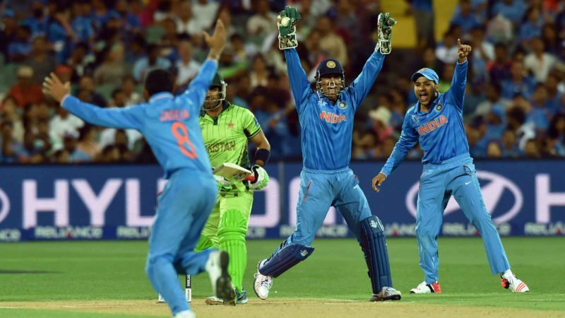Akmal scored a four-ball duck against India in the 2015 World Cup
