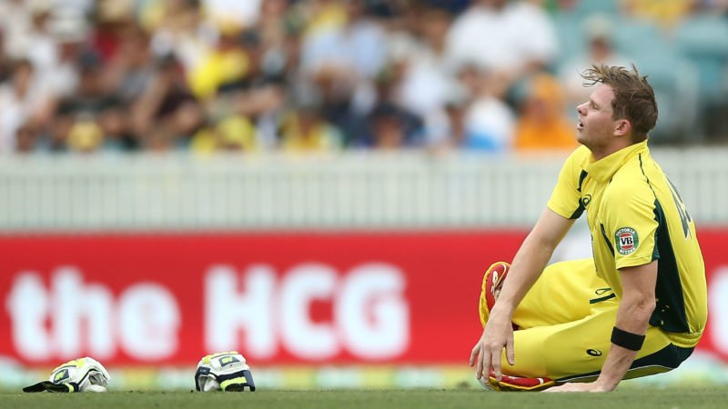 Smith – as well as Warner – havent played an ODI since January 2017