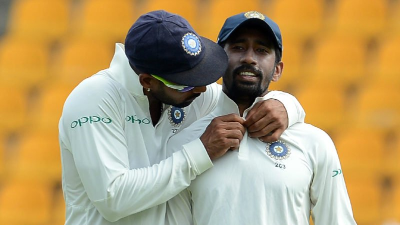 Wriddhiman Sahas injury has given Karthik another shot at Test cricket