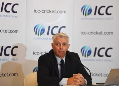 ICC chief Richardson to give spirt of cricket lecture