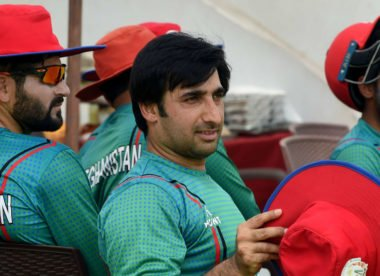 Teams touring India to play practice games against Afghanistan