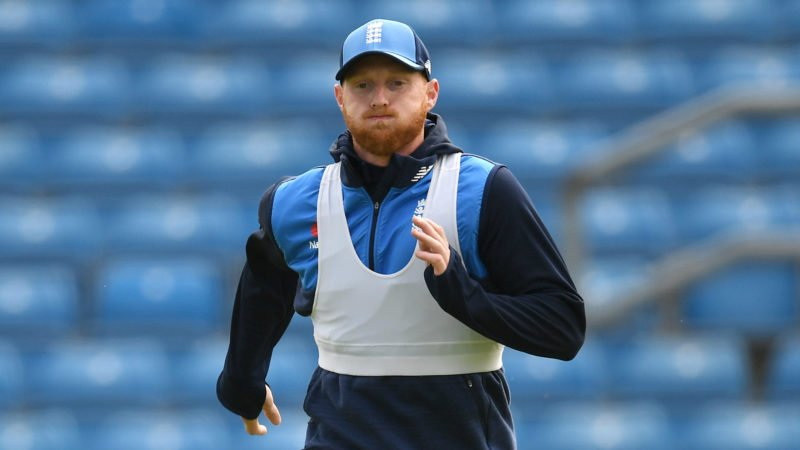 Stokes tore his left hamstring before the second Test against Pakistan