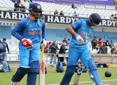 India A hit second-highest all-time List A score