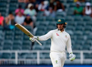 Usman Khawaja sets Glamorgan record with third consecutive century