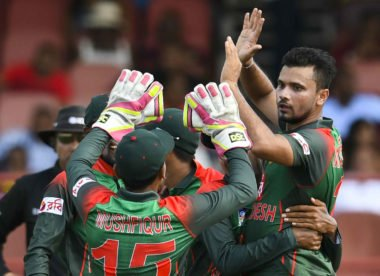 'Just play with your heart' – Mashrafe Mortaza hits the ground running