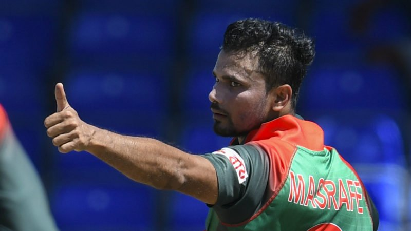 Mortaza led from the front with the ball, picking up seven wickets