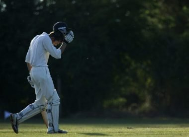 Losing face after losing your wicket: Top ten excuses for getting out in club cricket