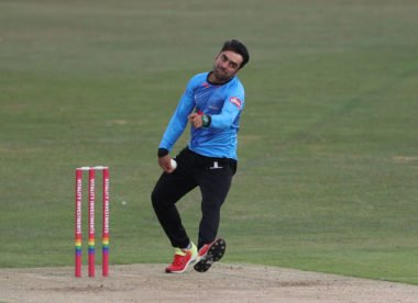 Afghanistan leg-spinner Rashid Khan prolongs Sussex T20 Blast stint