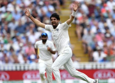 Still running in: The feel-good story of Ishant Sharma