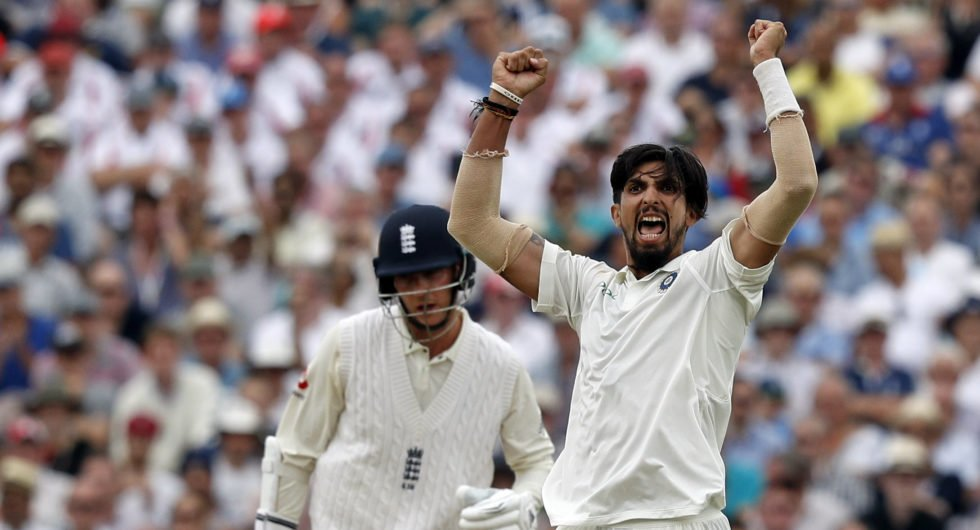 Sharma was on fire in the England second innings at Edgbaston