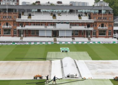 England v India second Test, Lord's – Rain delays start