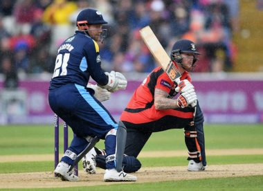 Stokes out of Durham's T20 Blast quarter-final with knee injury