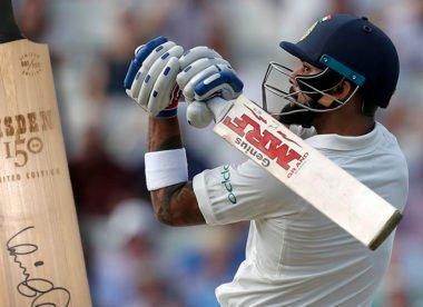 Win! Wisden 150 cricket bat signed by Virat Kohli