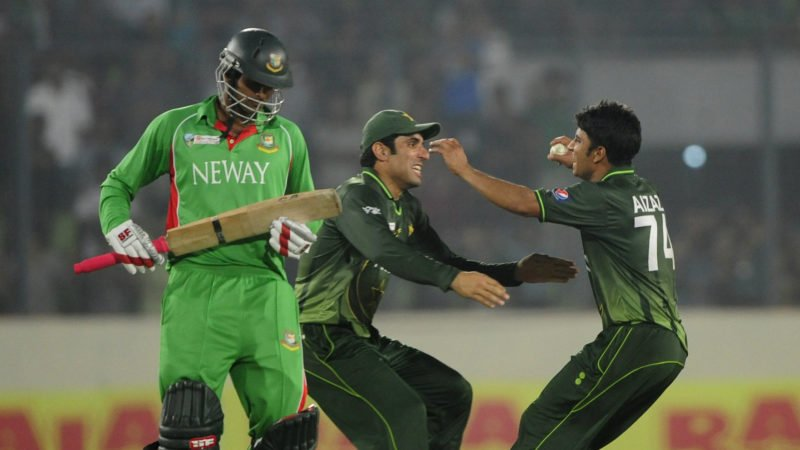 Bangladesh lost to Pakistan in the 2012 Asia Cup final