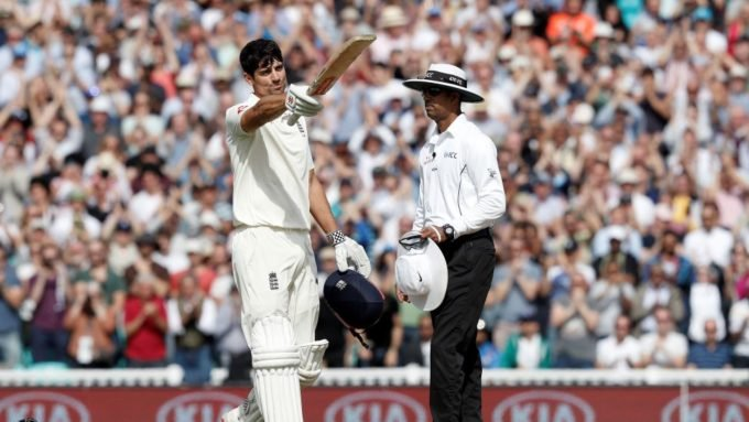 Alastair Cook secures dream farewell with final Test century