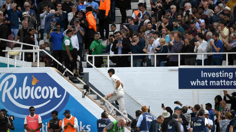 Alastair Cook, one last time ...
