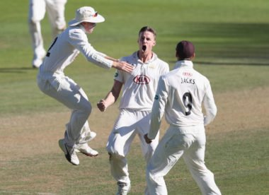 Surrey miss out on record-breaking comeback win over Essex in Oval thriller
