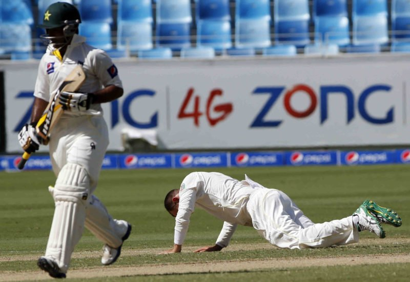 Lyon had a rough time in 2014, picking up three wickets for a whopping 422 runs in two Tests