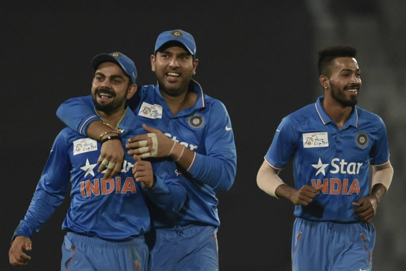 India won the last Asia Cup encounter against Pakistan by five wickets