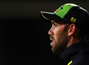 Mental exhaustion forced Glenn Maxwell to hope for a broken arm